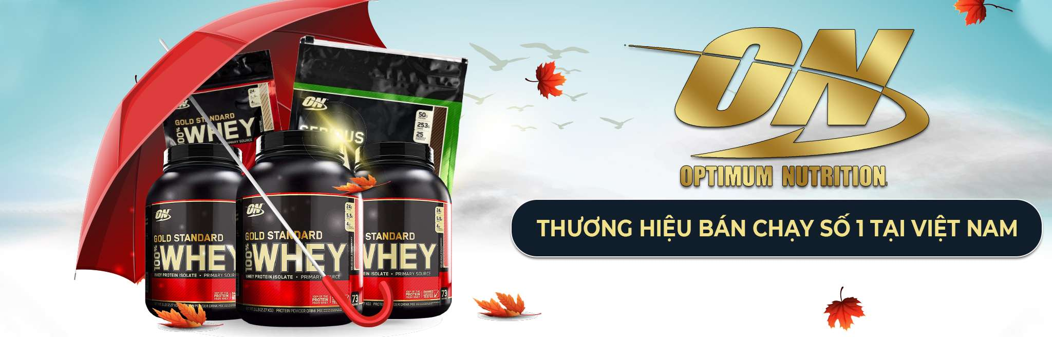 on optimum nutrition thuong hieu ban chay hang dau viet nam